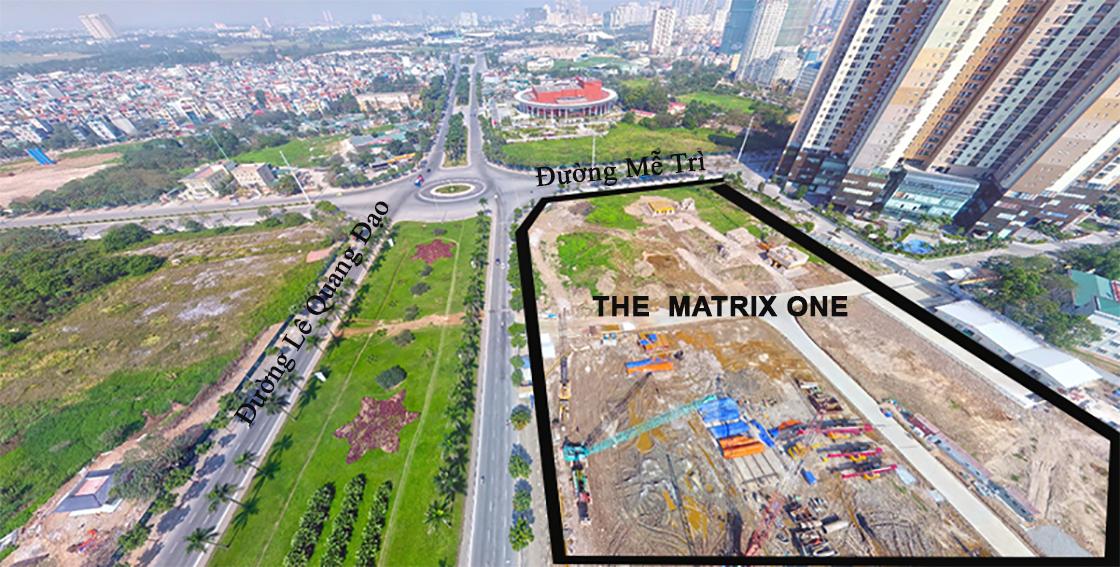 vi tri the matrix one
